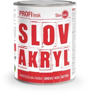 Farba SLOVAKRYL PROFI LESK www.pulzar.sk Farby Laky