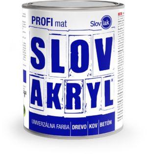 Farba SLOVAKRYL PROFI MAT www.pulzar.sk Farby Laky