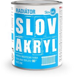 Farba SLOVAKRYL RADIÁTOR www.pulzar.sk Farby Laky