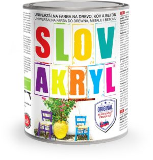 Farba SLOVAKRYL www.pulzar.sk Farby Laky