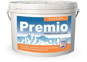 Interiérová farba PREMIO EXPERT www.pulzar.sk Farby Laky