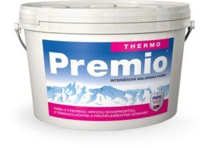 Interiérová farba PREMIO THERMO www.pulzar.sk Farby Laky