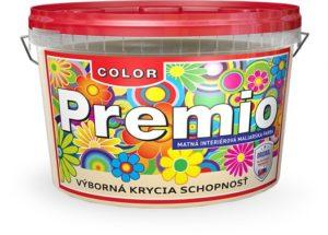 Interiérové maliarske farby PREMIO COLOR www.pulzar.sk Farby Laky