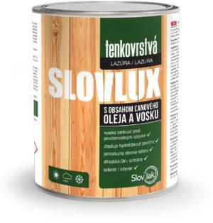 Tenkovrstvá lazúra SLOVLUX www.pulzar.sk Farby Laky