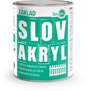 Základná farba na drevo SLOVAKRYL PROFI ZÁKLAD www.pulzar.sk Farby Laky